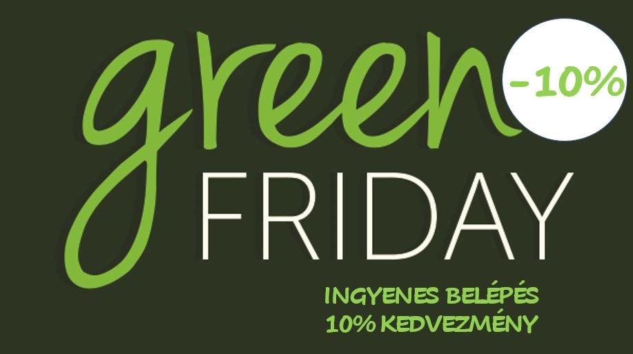 Green Friday Ingyenes Nap